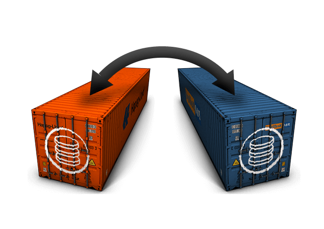 container transfer