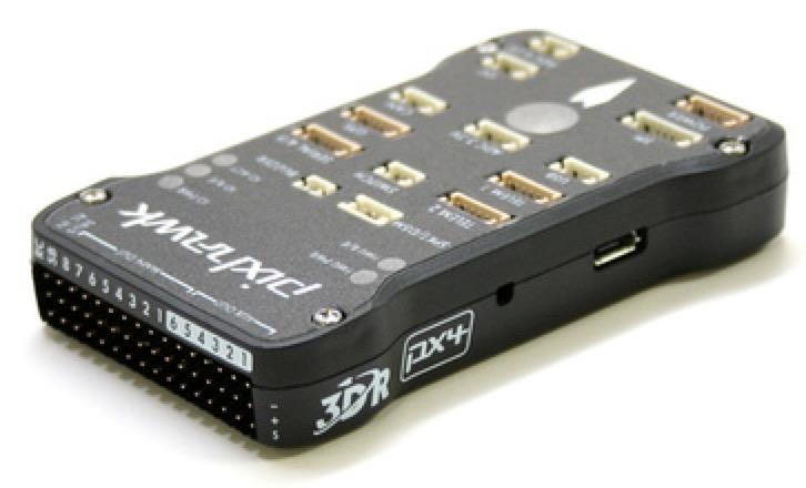 Controlling a drone through 4G, Pixhawk control board
