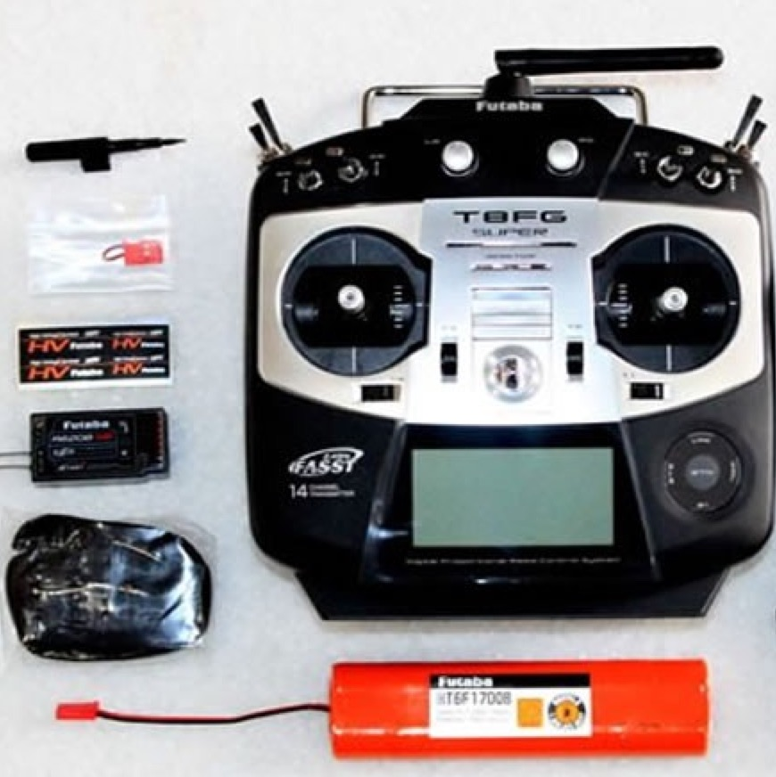 Controlling a drone through 4G, transmitter and receiver