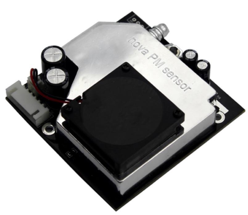 Controlling a drone through 4G, Nova sensor
