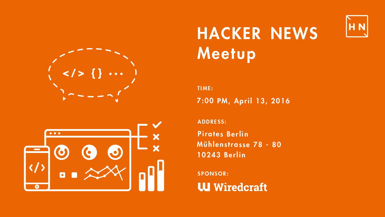 Hacker News 13.04.2016
