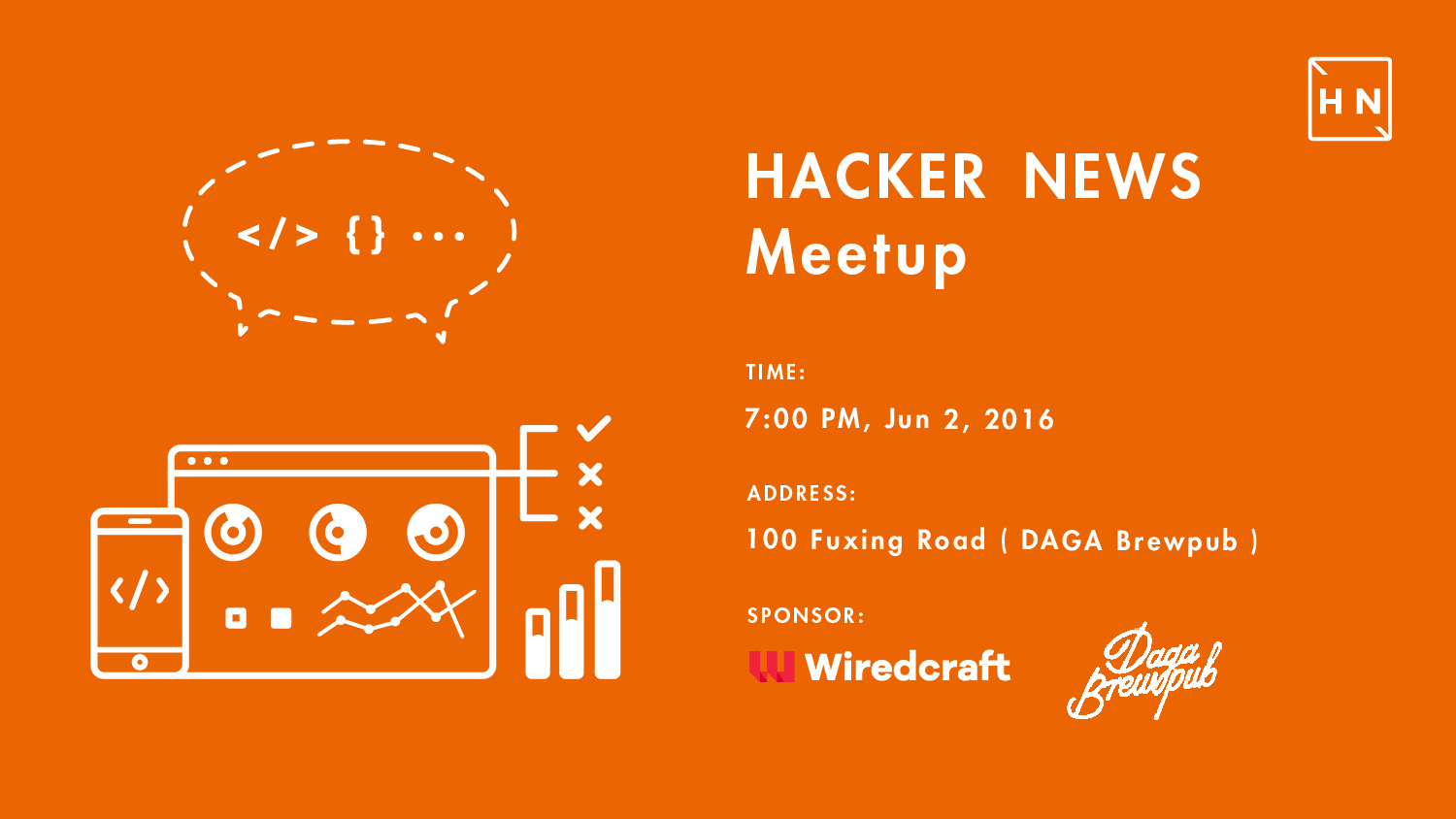 June Hacker News Meetup in Shanghai at DAGA Brewpub
