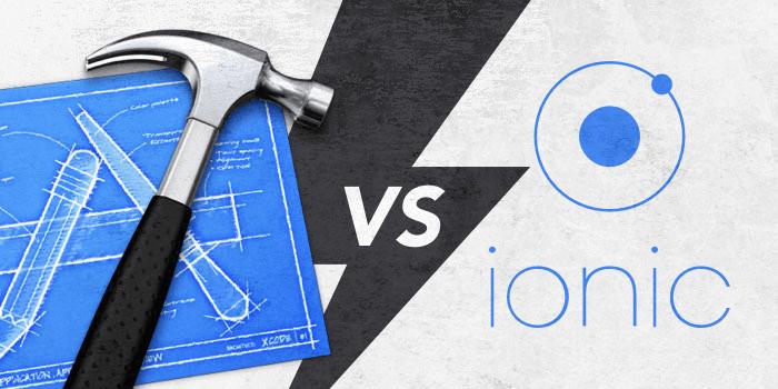 Xcode vs Ionic
