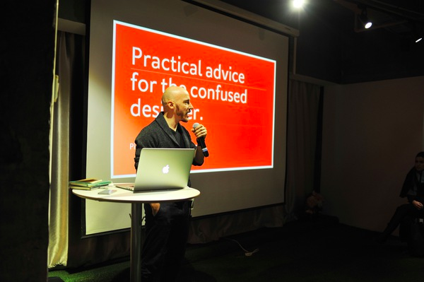 Pierrick Calvez suggests a healthy amount of preparation for meetup talks