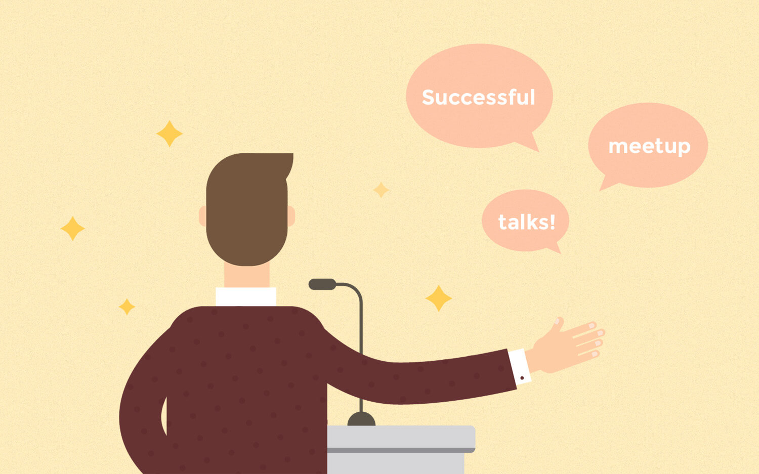 Become a master of public speaking and give stellar meetup talks by tackling the most common excuses.