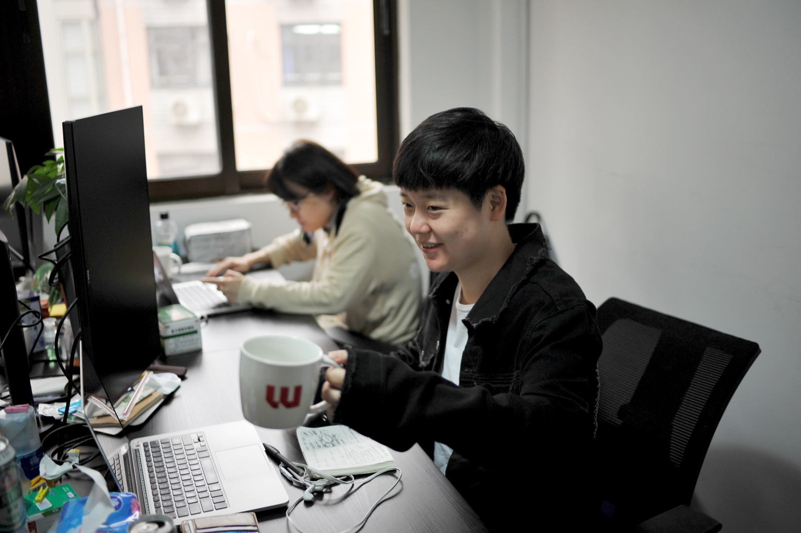 Welcome, Shane, our new front-end developer in Shanghai.