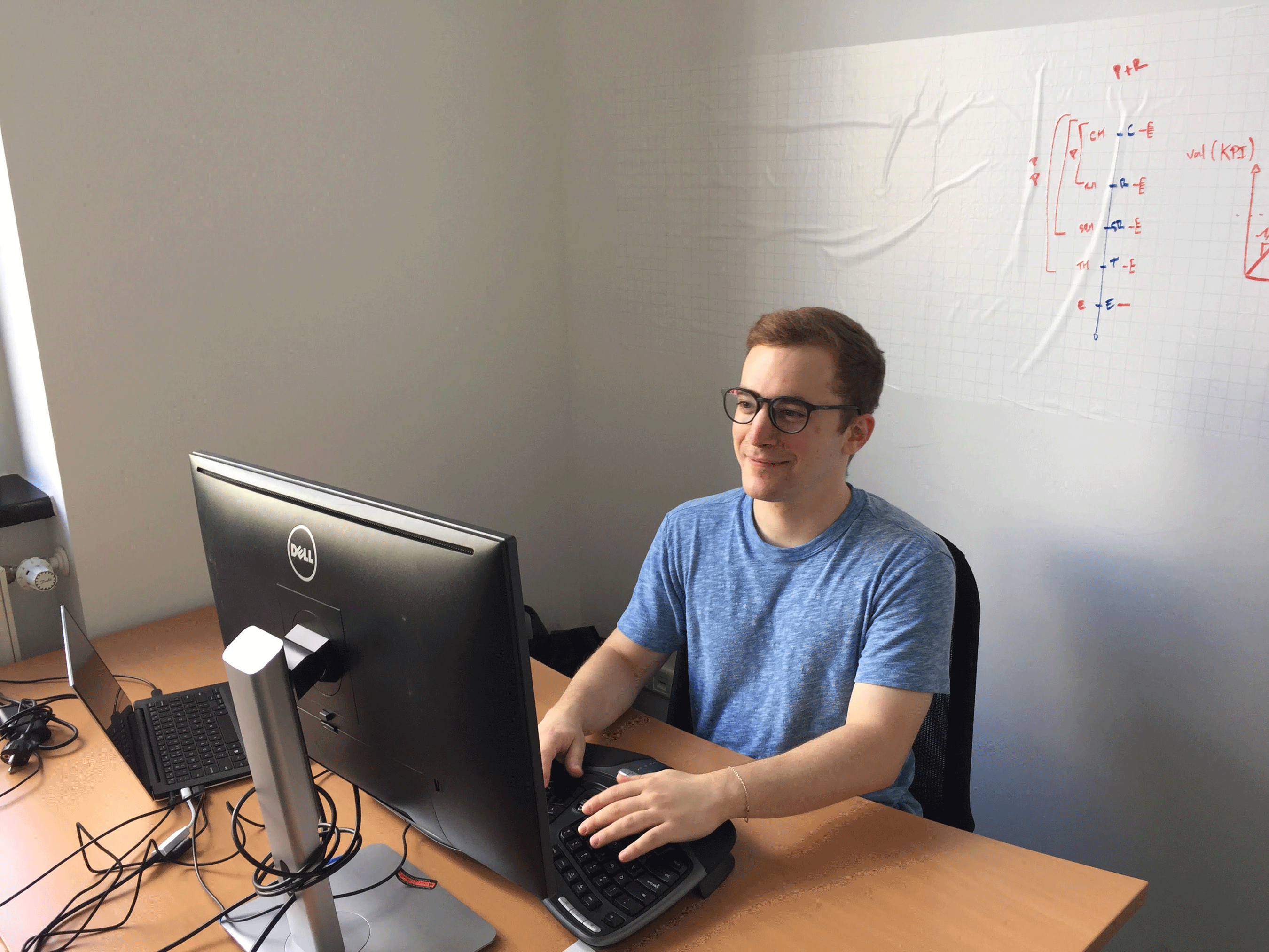 Hallo, Stelios, our new member of the backend team in Berlin