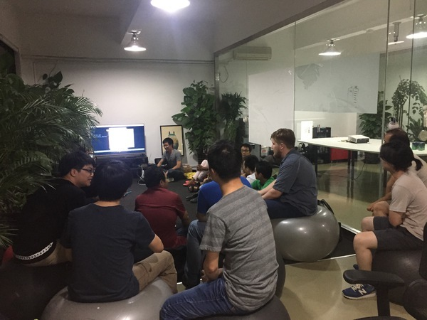 Javascript meetup, August 2014, tech talk
