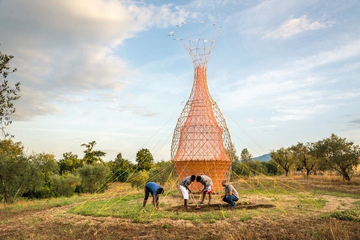 Warka Water Tower Image