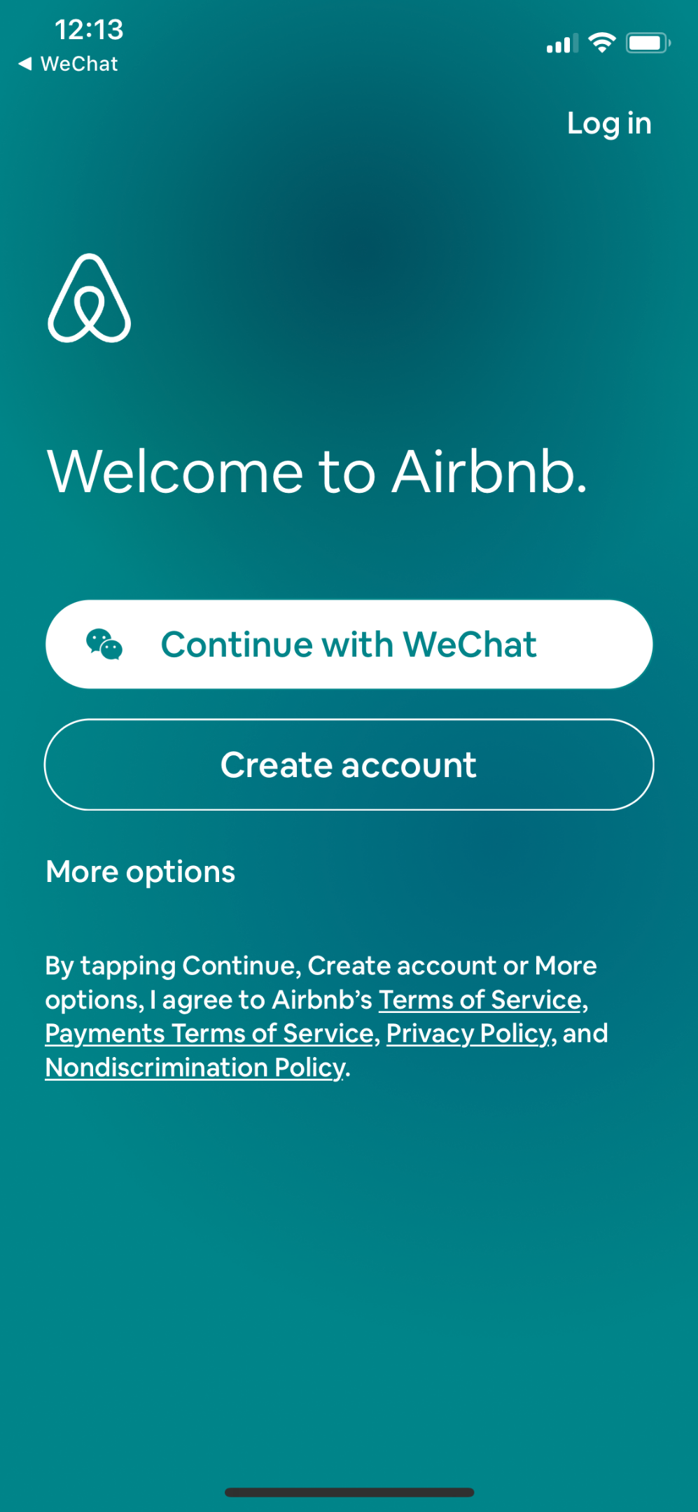 Different landing pages for WeChat authorization