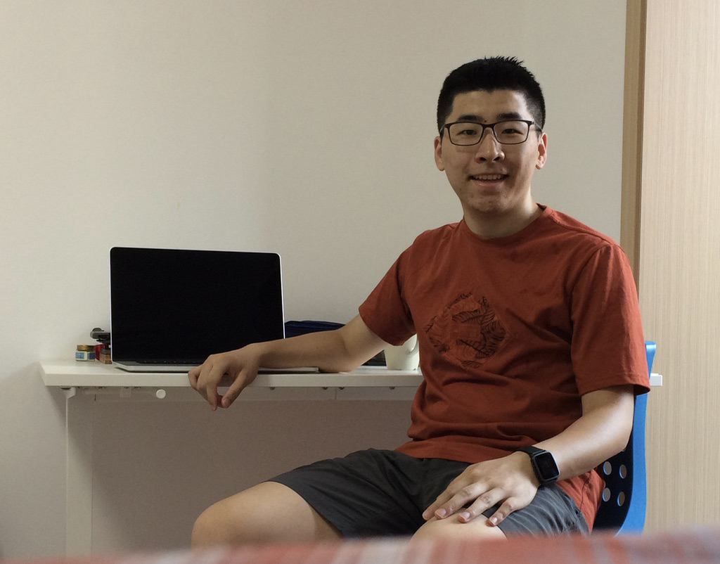 How are you, Yiwan, our new member of the Front-end team in Shanghai